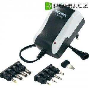 Síťový adaptér s redukcemi Voltcraft USPS-1500, 3 - 12 V /DC, 18 W