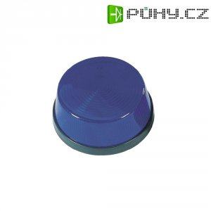 Stroboskopický blikač, modrý