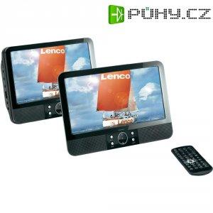 Přenosný DVD přehrávač do auta Lenco MES403, 2 monitory