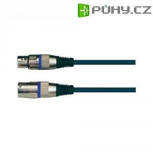 XLR kabel SP37XLF/SP38XLM, XLR(F)/XLR(M), 5 m, černá