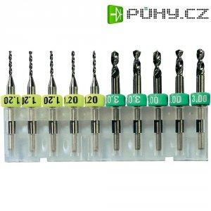 Vrtáky z tvrdokovu Bungard 81013, 1,3 mm, 10ks