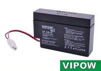 Baterie olověná 12V/ 0,8Ah VIPOW bezúdržbový akumulátor