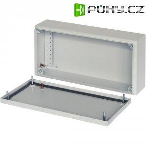 Svorkovnicová skříň kovová Schroff 12505-020, 150 x 120 x 150 mm, IP66, šedá
