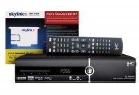 Satelitní přijímač GoSAT GS7056HDi SET + Karta HD Skylink Irdeto M7