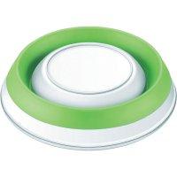 Kuchyňská váha s miskou Beurer, 705.55, bílá/zelená