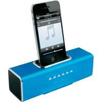 Dokovací sound stanice Technaxx MusicMan R pro iPod,iPhone, modrá