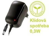 Napáječ, síťový adaptér NK120P100 12V/1A spínaný, konc. 5,5x2,1mm