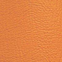 Potah z umělé kůže - oranžová