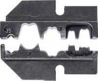 Krimpovací čelisti pro zapalovací svíčky Knipex 97 49 35, 1,0 mm² (AWG 17)