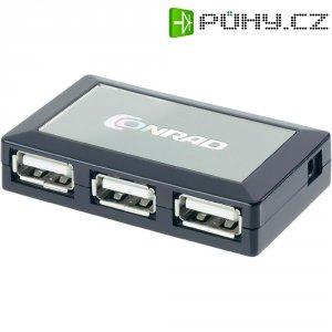 "USB 2,0 HUB \""STYLE\"" se 4 porty"