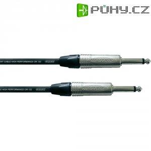 Kytarový kabel JACK 6,3 mm Cordial Pro Line CIK 122, 6 m, černá