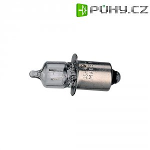 Miniaturní halogenová žárovka Barthelme, P13.5s, 2,8 V, 2,38 W, 0,85 A, čirá