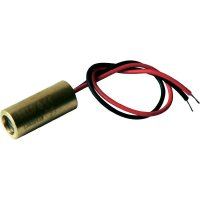 Laserový modul čára Laserfuchs, 70109986, 5 mW