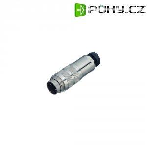Kabelový konektor s kroužkem Binder 423 (99-5125-15-07), 7pól., 0.75 mm², 4 - 6 mm, IP67
