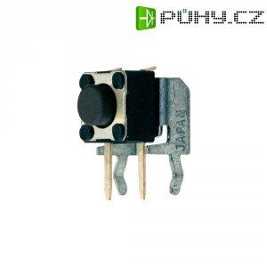 Tlačítko, T632, 24 V/DC, 0,05 A, vyp./(zap.), černá