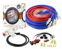 Napájecí a signál.kabely k autozesilovači LTC