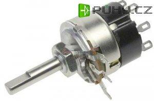 50k/G TP281 32B, potenciometr otočný s vypínačem