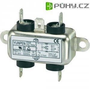 Odrušovací filtr Yunpen YK01T1, 250 V/AC, 250 V/AC, 1 A, 1 A