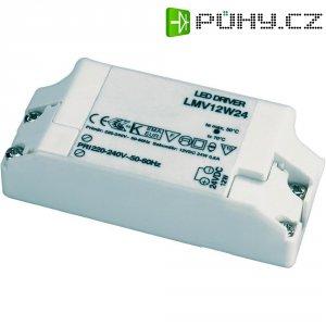 Sítový zdroj pro LED pásky, 24V, 12 W