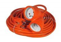 Prodlužovací kabel - spojka 10m 3x1,5mm2, 16A