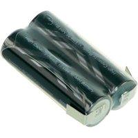 Akupack s pájecími kontakty Sanyo XX AA, 2,4 V, 2400 mAh