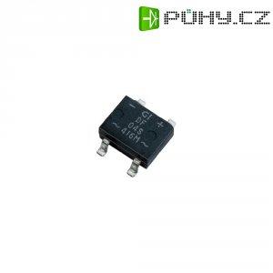 SMD můstkový usměrňovač Diotec B500S, U(RRM) 1000 V, U(FM) 500 V, 1 A