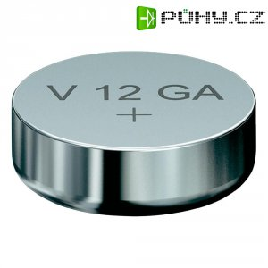 Knoflíková baterie LR43, Varta AG12, alkalicko-mnaganová, 04278101401