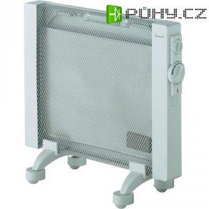 Přenosné topení Duracraft, 350/650/1000 W, IP24, světle šedá
