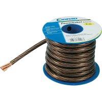 Zemnící kabel SH1997C167, 1x 6 mm², Ø 4,60 mm, 5 m, černá/transparentní