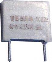 47n/250V TC226, svitkový kondenzátor radiální