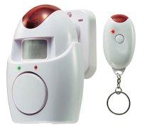 Nástěnný alarm s PIR a dálkovým ovládáním 110dB