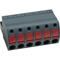 Push In svorka AK4951/4KD-5.0 (54951040401D), AWG 26-12, čedičově šedá