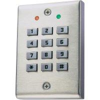 Kódová klávesnice, MKP-1110, 12 V/DC, 1kanálová, IP54, nerez