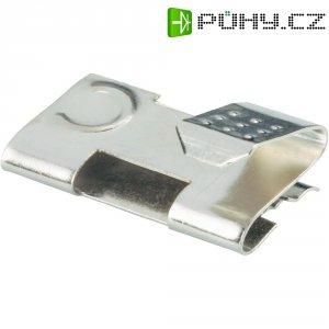 Propojka pro baterie AA Keystone 291, 20,83 x 11,40 mm, stříbrná