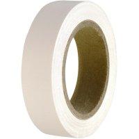 Izolační páska HellermannTyton HelaTapeFlex 15, 710-00105, 15 mm x 10 m, bílá
