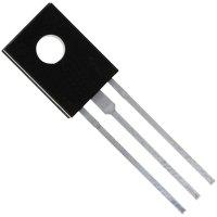 Výkonový tranzistor Darlington STM BD 679A, NPN, TO-126, 4 A, 80 V