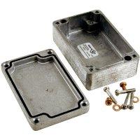 Univerzální pouzdro hliníkové Hammond Electronics 1590Z110, (d x š x v) 75 x 80 x 52 mm, hliníková
