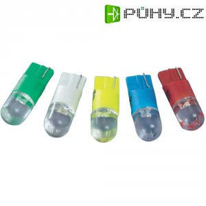 LED žárovka W2.1x9.5d Barthelme, 70113014, 6 V, 0,6 lm, jantarová