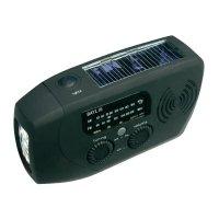 Solární rádio s dynamem a svítilnou FreePlay