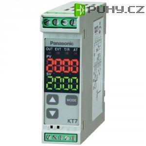 Termostat na DIN lištu Panasonic KT7, 240V AC, tranzistor 12 V/DC/40 mA