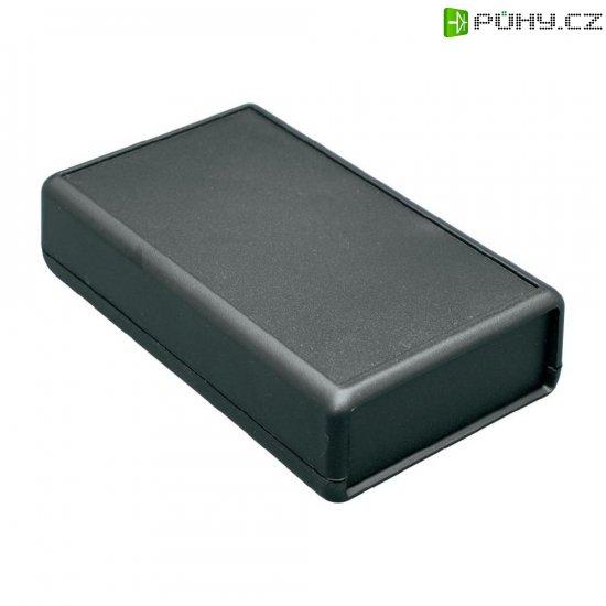 Univerzální pouzdro ABS Hammond Electronics 1593YBK, 140 x 66 x 28 mm, černá (1593YBK) - Kliknutím na obrázek zavřete