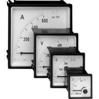 Analogové panelové měřidlo Weigel EQ72K 0-200V 250 V/AC