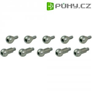 Sada kulových kloubů s vniřním šestihranem GAUI, 10 ks (208782)