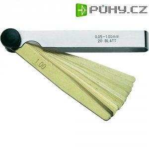 Spárové měrky Horex 2614374, 0 ,05 - 1,00 mm, pozlacený