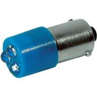 LED žárovka BA9s CML, 18620357, 24 V, 780 mcd, modrá