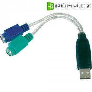 Redukce PS/2 ⇒ USB 2.0, Digitus