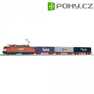 Startovací sada H0 nákladního vlaku a elektrické lokomotivy řady 189 Piko 96967