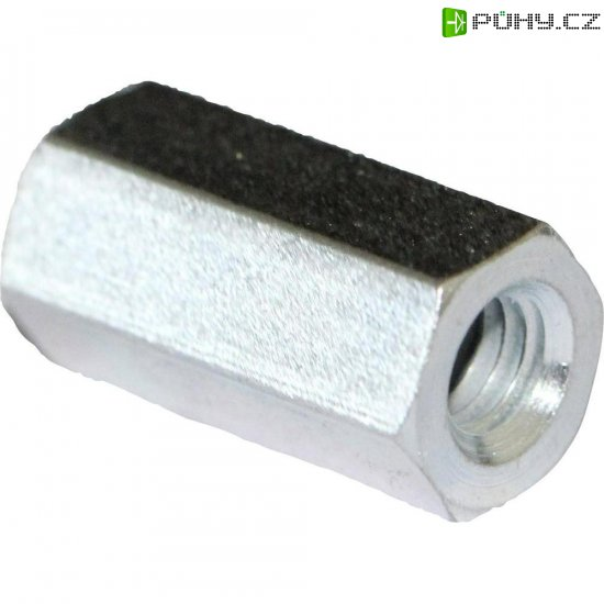 Distanční sloupek PB Fastener S57040X25, M4, 25 mm, 10 ks - Kliknutím na obrázek zavřete