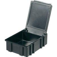 Box pro SMD součástky Licefa, N3661010EGB, 41 x 37 x 15 mm, černá