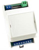 Dálkové ovládání 4 kanálové 433MHz, přijímač na din lištu SRR4-DIN